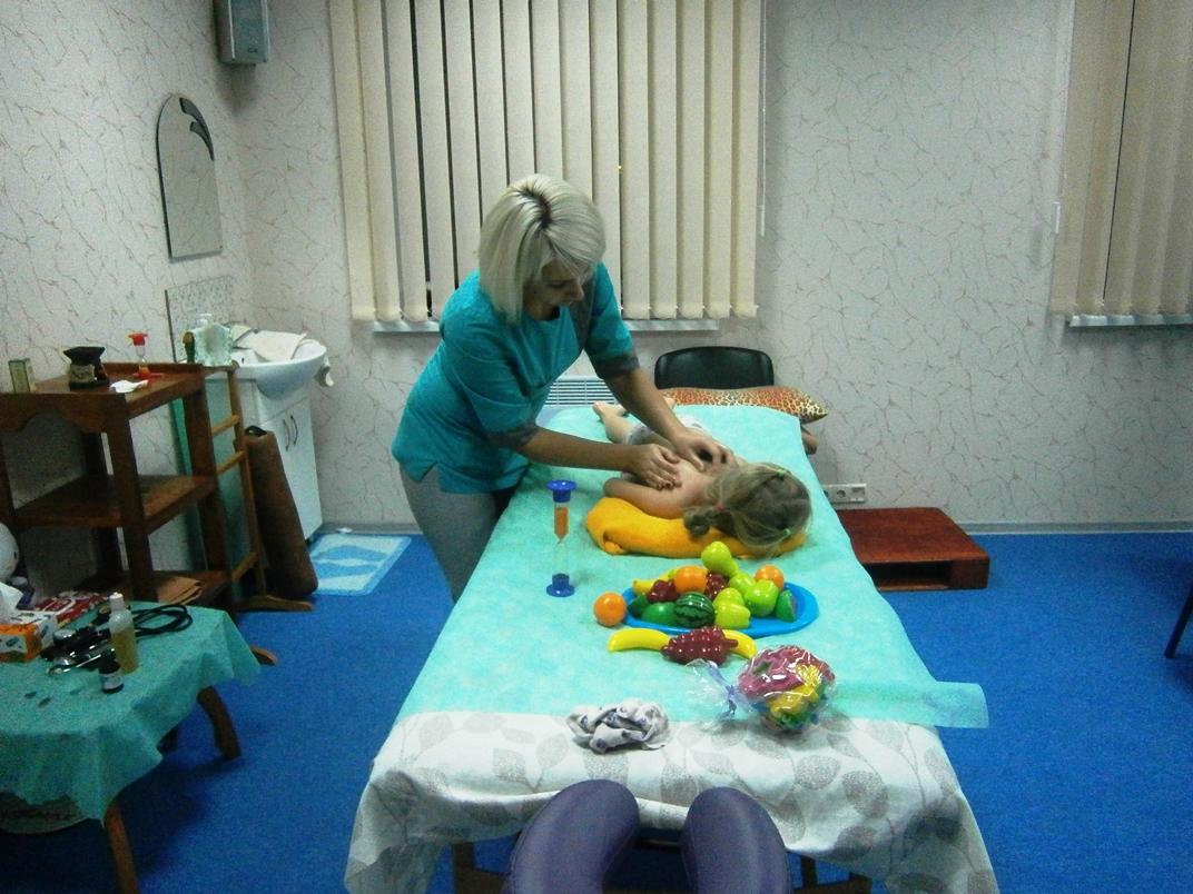 Детский массаж ФОЦ Планета здоровья
